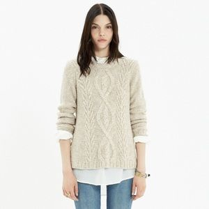 Madewell • Firelight Marled Pullover Sweater
